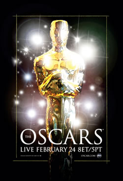 The 80th Oscars Poster